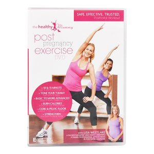 post pregnancy exercise dvd