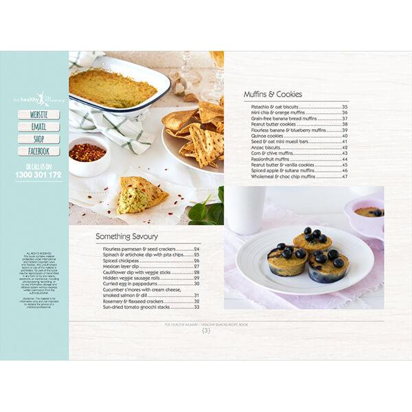 Healthy Snacks eBook - contents