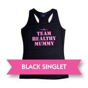 Black Healthy Mummy Singlet