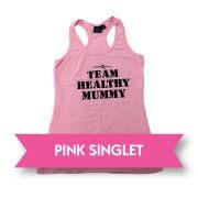 Pink Healthy Mummy Singlet