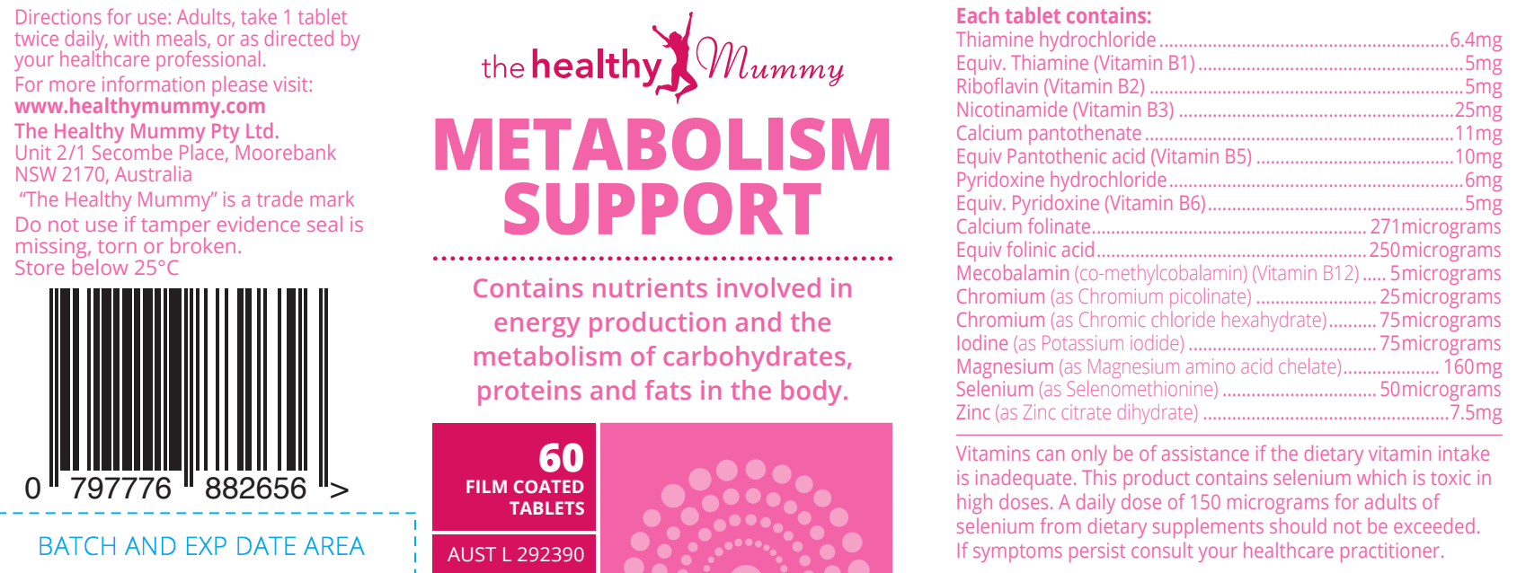 Metabolism Boosting Tablets