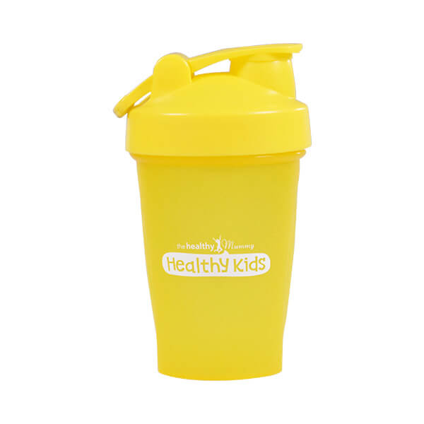 Healthy Kids Smoothie Shaker Yellow