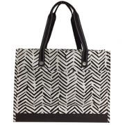 healthy mummy tribal tote back in black and white