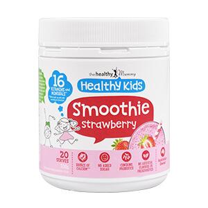 Healthy Kids Strawberry Smoothie