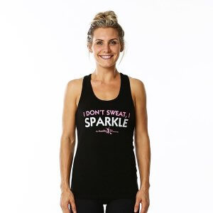 I don't sweat, I sparkle - singlet