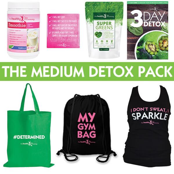 Medium detox pack