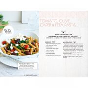Tomato, Olive, Caper & Feta Pasta Recipe