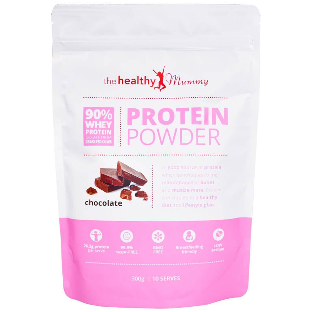 Chocolate Protein Powder Smoothie The Healthy Mummy Whey Isolate 90 Wpi 500gr