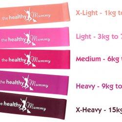 pink resistance bands
